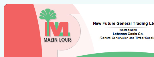 Mazin Louis website screenshot